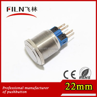 product chinese porn momentary 4pin metal 22mm pushbutton switch