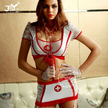 2015 hot nurse costume white japanese nurse costume,pvc nurse costume