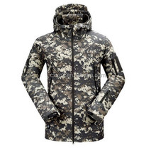 De la chaqueta de camuflaje exterior brazo a prueba de agua a prueba de viento de la chaqueta chaqueta táctica