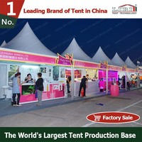 Clear Span Aluminum Frame Outdoor Booth Tent for Stall