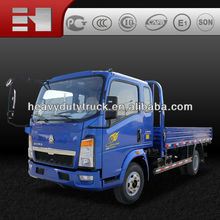 2015 new product--high quality famous brand SINOTRUK HOWO 4x2 light truck cargo truck for low price hot sale