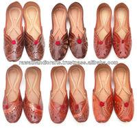Fire Fly New Punjabi Juti Jutti Khussa Shoes Golden Beaded Designer Shoes Punjabi juti Khussa shoes