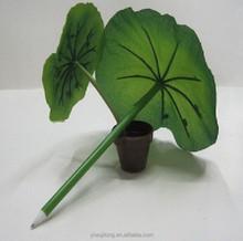 Hot fashion Creative lotus leaf pen,novetly ballpoint pen wholesale