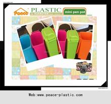 Hot sale plastic mini pen pot