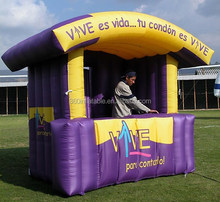 Outdoor portable Small custom VVS inflatable trade show booth