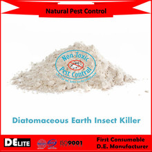 DElite Organic 300G/Bottle Diatomaceous Earth(D.E.) Powder Natural Pesticides, Insect Killer