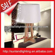 Artistic nature wood table lamp for Home lighting