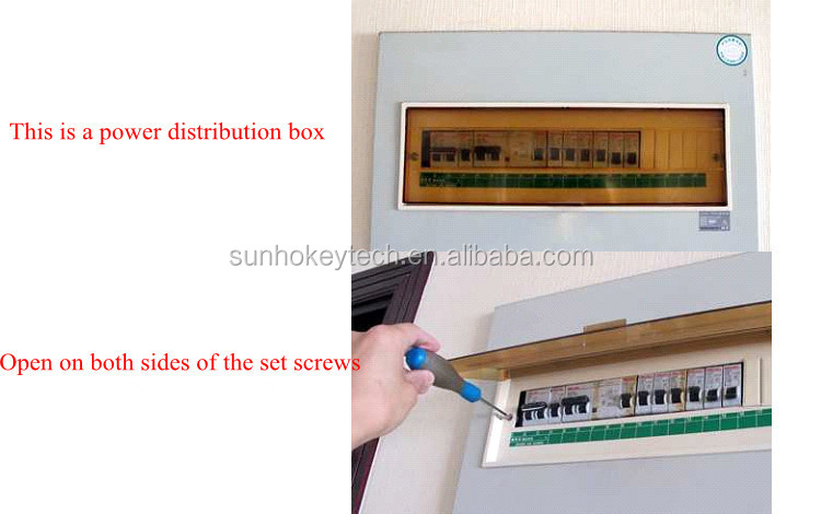 Digital Ammeter Panel Mount : D lcd digital voltage panel mount voltmeter ammeter
