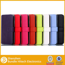 Cell phone leather flip case for iphone 6