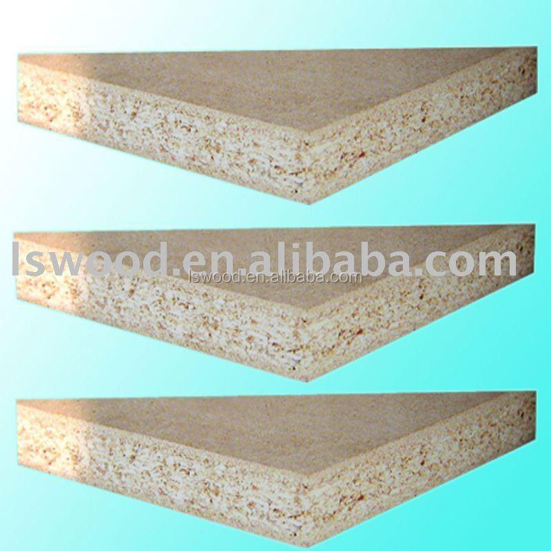 Wood veneer faced mm solid chipboard oak particle