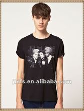 mens short sleeves branded t shirt with Salt And Pepa Printed
