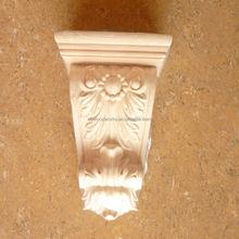 Madera maciza decorativa europea para la decoración del hogar