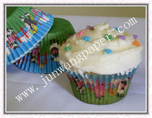 Animal rinting paper cup cake holder