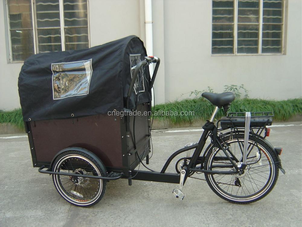v los d 39 occasion trois roues lectrique bisikle 36 v famille fret lectrique tricycle v lo. Black Bedroom Furniture Sets. Home Design Ideas