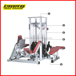 Deluxe Commercial 4-Multi Station Machine Multi Gym Equipment