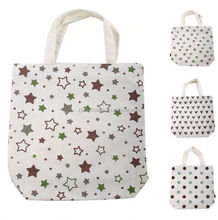 mini cotton tote bag/ lovely cotton bag/ drawstring bag for water bottle