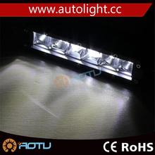30W single row straight led light bar,7.9inch single row offroad led light bar 12-24v led lamps