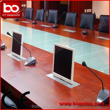 Motorized LCD Lift Type Monitor Electric Lift for Conference Room Interior Design