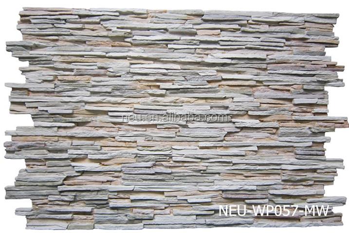 Fireproof Steel Wall Panels : Pu faux stone panel waterproof fireproof d