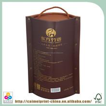 custom printed cheap recycle brown grocery paper bags
