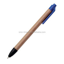 Wholesale custom novelty Recycled Paper Clicker Pen