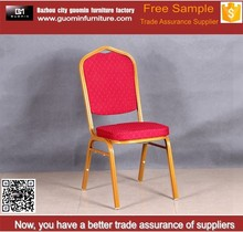 Gold luxury wedding chairs acrylic banquet chair covers