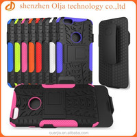 2014 hot selling durable rugged holder silicone case for iphone 6 4.7 inch, belt clip with or withnot