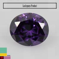hot sale synthetic gemstone,amethyst round brilliant cubic zirconia ,semi-precious stone akik stone