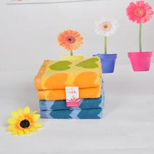 New Towel 2015 33*73cm 100% Soft Cotton Brand Face Flower Towel 100% Cotton Quick Dry Wholesale Towels