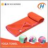 2015 high quality soft towel yoga, fabrics yoga towel, embroidered microfiber yoga towel