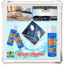 Autokem vidrio limpiador en aerosol, parabrisas / espejo spray de limpieza, líquido limpiador de cristales, hogar de espuma