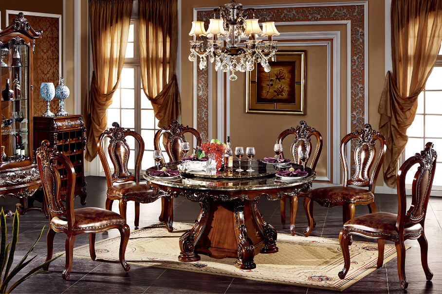 bisini luxury hotel round marble top dining table buy dining room