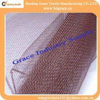 wrapping plastic wire mesh christmas decoration material for furniture