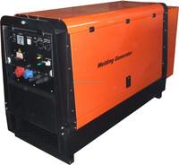 China 500amp 16kva diesel powered welder generator
