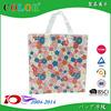 beautiful transparent pp woven shopping bag with zipper wenzhou