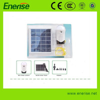 Solar Lamp with 3W Led Bulb / rechargeable Home Led Solar Cell Lamp/Remote Control Solar Indoor Lamp