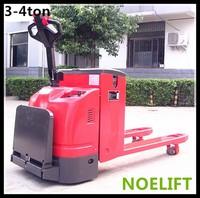 user friendly design 3T eletric pallet stacker trucks