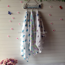 Hot Selling 70% Bamboo and 30% Cotton Muslin Baby Swaddle