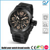 Build your watch brand easily stainless steel military watch man big case 10ATM water resistant