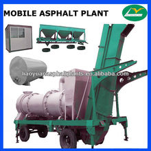 Asphalt batching plant exported--MHB60