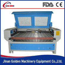 Two Heads Feeding and Unloading Laser Cutting Machine
