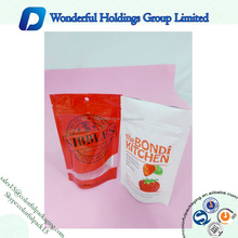2015 Hot Sale Doypack Zipper Bags/Doypack Zipper Bags with Hanger/Aluminum Small Bag for Food Packaigng