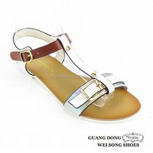 open toe ankle strap footwear best fashion flat summer sandals 2015 for women