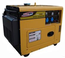 AC single phase output 5 kva 5kw diesel generator set