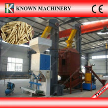 Professional Provide CE approved 5T/h various biomass pellet production line