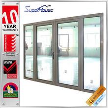 AS2208 double glazing glass Rosort hotel aluminum alloy frame swing door