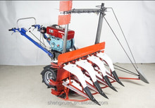 4G100 mini rice and maize harvester
