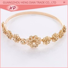 rose plated fashion fake weight 24k gold bracelet