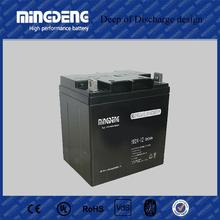 Plastic factory supply directly solar battery 12v 24ah deep cycle battery solar gel battery