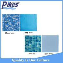 2015 Popular 1.2mm above ground Swimming Pool PVC Liner,light blue PVC liner,pool pvc film